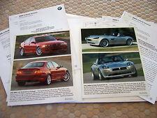BMW OFFICIAL ALPINA V8 ROADSTER 330i PRESS KIT BROCHURE 2003 USA EDITION