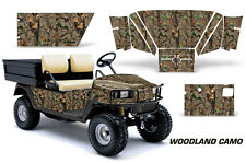 Golf Cart Graphics Kit Decal Sticker Wrap For E-Z-Go Workhorse 96-03 WOODLAND