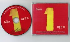 """Promo-only THE BEATLES Let It Be JAPAN 5"""" CD SINGLE PCD-2376 w/PS+PROMO STICKER"""
