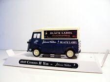 1947 Citroen Type H Van Custom Graphics Diecast Johnnie Walker Black Label Van