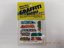 BLAIR LINE LASER CUT GRAFFITI DECALS N SCALE #1248 SET # 5