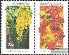 Thailand 2205A-2206A Paar (kompl.Ausg.) postfrisch 2003 Nationale Symbole