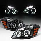 Black 2005-2010 Chevy Cobalt 07-10 Pontiac G5 LED DRL Halo Projector Headlights  for sale