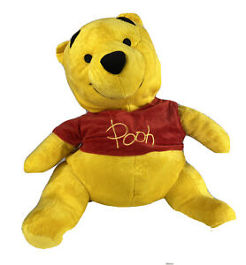 Disney Parks Winnie The Pooh and Honey Pot Reversible Plush Toy 20 inch