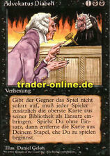 Advokatus diaboli (Demonic Attorney) Magic limited black bordered German BETA FB