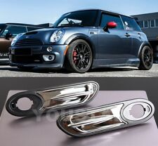 FAST EMS x2 Chrome Fender Indicator Scuttle Trims for MINI Cooper S R50 R52 R53