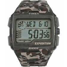 Timex Expedition Grid Shock Digital Chronograph Camouflage Strap Gents Watch