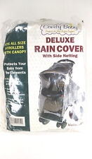 Comfy Baby Deluxe Weatherproof Rain Cover with Retractable Sun Shade