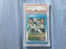 Greg Maddux 1987 Fleer Update #U-68  Rookie Card - PSA 9 MINT - MLB