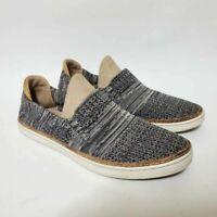 Ugg Australia Womens 8 Sammy Slip On Sneakers Shoes Black Gray 1092779
