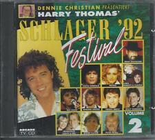 V/A - Schlager Festival '92 (VOLUME 2) CD Album 22TR (ARCADE) Nicole Andy Borg