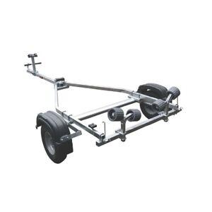 New Proline 350kg Roller Galvanised RIB Boat Trailer