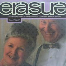 "7"" 1991 RARE EP ! ERASURE : Am I Right // MINT- \"