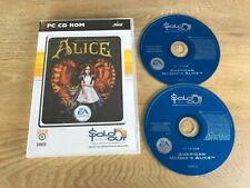 American McGee's Alice - PC CD-ROM Game - Complete