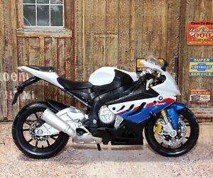 BMW R 1000 RR 1:12 Scale Die-cast Model Toy Motorcycle Motorbike Maisto