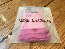 Matilda Jane Capture the Flag Shorties / Shorts Girls Size 2 T Pink Polka-Dots