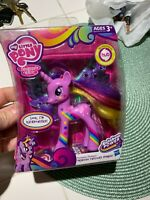 My Little Pony Fantastic Flutters Princess Twilight sparkle Unicorn Figure.