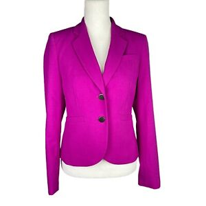 CALVIN KLEIN Women 2PC Pink Single Breasted Polyester Blend Lined Blazer Size 2P