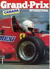 GRAND PRIX INTERNATIONAL n°66 GP CANADA 1983