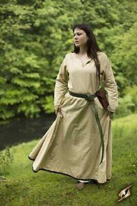 Medieval Simple Basic Dress Renaissance Larp SCA Costume Ladies