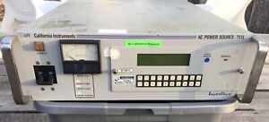 California Instruments 751L 1PT AC Power Source