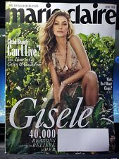 Marie Claire Magazine April 2020 -- Gisele -- Brand New!