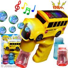 School bus bubble gun for kids