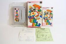 Super Gussun Oyoyo Boxed SFC Nintendo Super Famicom SNES Japan Import US Seller