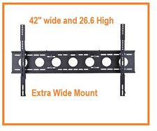 "1153T Extra Wide Tilt Wall mount for 40"" to 80"" LCD LED Plasma (Three Stud)"