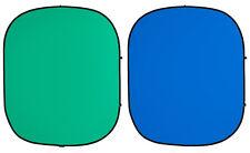 Chroma Green/Blue Screen flexibler Hintergrund 1,52x1,83m (Savage)