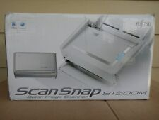 Fujitsu ScanSnap S1500M Color Image Scanner for Mac & PC - PA03586-B105 LikeNew