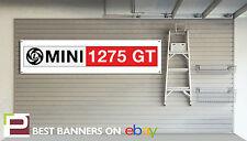 Mini 1275 GT Workshop Garage Banner Leyland Mini Cooper S