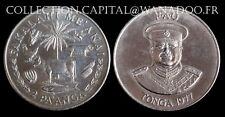 Tonga 2 PA'ANGA 1977 Copper Nickel