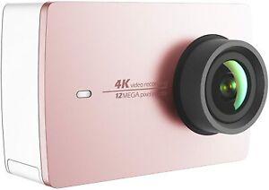 YI 4K Action Cam WiFi Touchscreen Sport Camera Kamera Rose Gold NEU & OVP