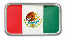 Patch - Mexican Flag Heat Seal / Iron on Patch for jackets, shirts, tote bags,