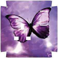 Purple Butterfly Socket Outlet Sticker for Crabtree 4304 Single