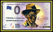 Billet Touristique Souvenir 0 euro PORTUGAL OR Fernando Pessoa GOLD EDITION 2018