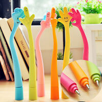 5pc Cute Cartoon Ball Point Pen Ballpoint Finger Creative Stationery StudeFFB