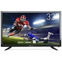 "Myonaz LED HD TV 720p 1080p Flat Screen TV 3X HDMI VGA USB 32"" 24"""
