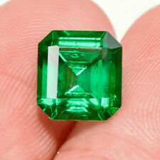 2Ct Colombian Emerald Octagon Collection Color Enhanced QMDa495