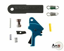 Apex Blue S&W M&P Duty/Carry Flat-Faced Forward Set Enhancement Trigger Kit