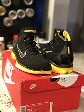 13337d525fe55 NIKE AIR ZOOM HUARACHE 2K4 SIZE 10.5 BLACK YELLOW LAKERS KOBE