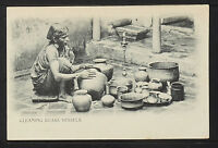 INDIA 392-Cleaning Vessels (Undivided Back (c. 1901-1907)