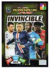 Carte PANINI Adrenalyn XL Ligue 1 2020-2021 #8 INVINCIBLE Mbappé Camavinga ....