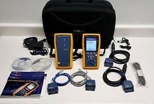 Fluke DTX-1200 Cable Tester Analyzer Cat6 Certifier DTX1200 FREE SHIPPING!