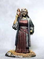 DARK SWORD MINIATURES - DSM7332 Female Witch / Old Crone w/Owl