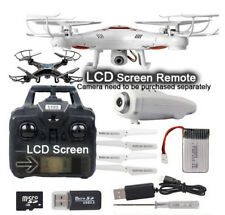 LCD Screen Remote control LED Flying Colorful Gift aircraft Cool 2017 New