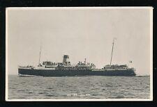 Channel Islands JERSEY SS St Julien c1920/30s? PPC