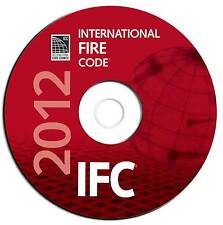 NEW 2012 International Fire Code-IFC-Council Regulations Searchable PDF CD eBook