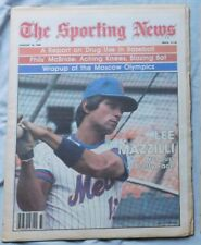 LEE MAZZILLI NEW YORK METS AUG 16 1980 The Sporting News